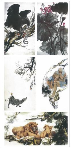 H.H.第三世多杰羌佛中國畫2