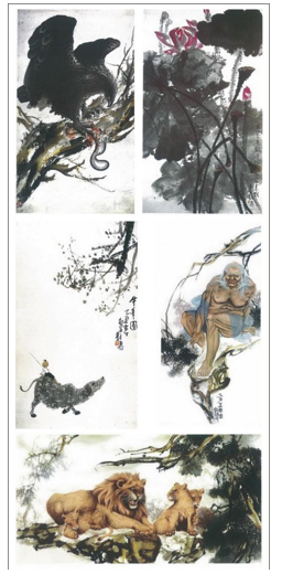 Chinese Paintings of H.H. Dorje Chang Buddha III-2