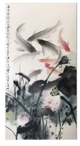 Admiration for the Chinese Paintings-1