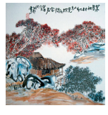 Admiration for the Chinese Paintings-5