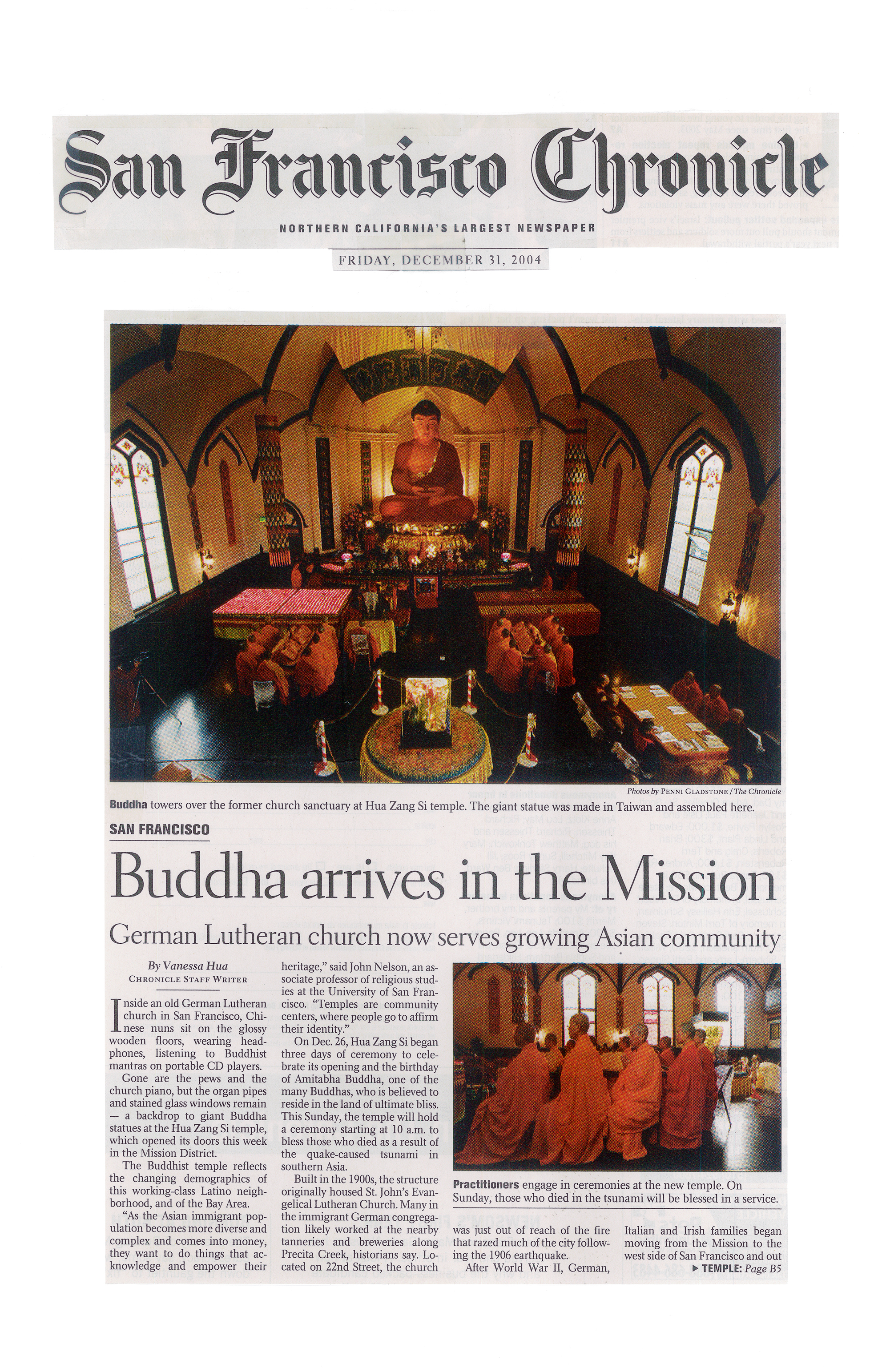 Buddha arrives in the Mission (Hua Zang Si- temple that propagates Dharma of H.H. Dorje Chang Buddha III)-1.jpg