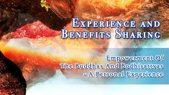 Empowerment Of The Buddhas And Bodhisattvas