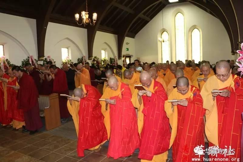 佛教成就圣德-佛教界为赵玉胜居士举办盛大告别法会-3