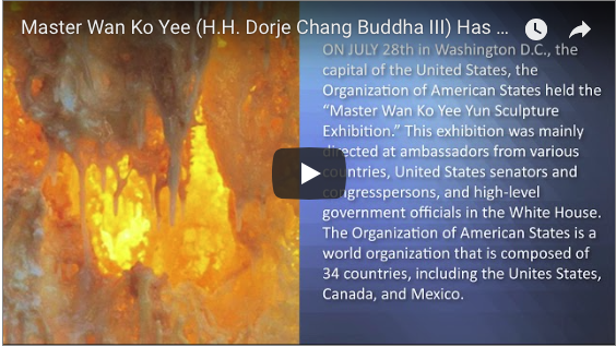 Master Wan Ko Yee (H.H. Dorje Chang Buddha III) Has Made A Great Contribution To Art (Video)