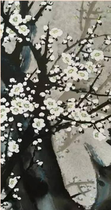 特級國際藝術大師義雲高(第三世多杰羌佛)中國畫–冬粉-2