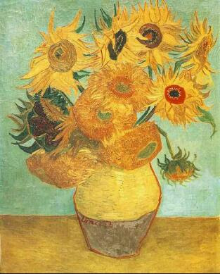 梵高作品《向日葵》之二