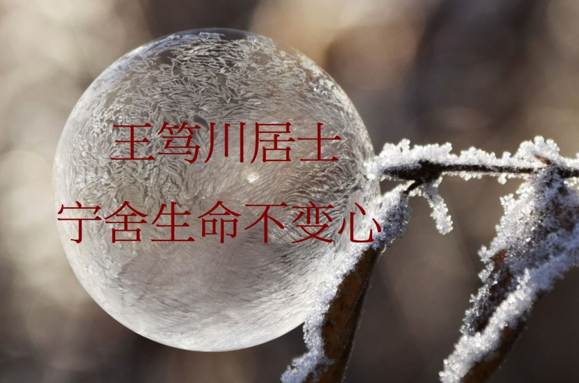 王笃川居士 宁舍生命不变心-1