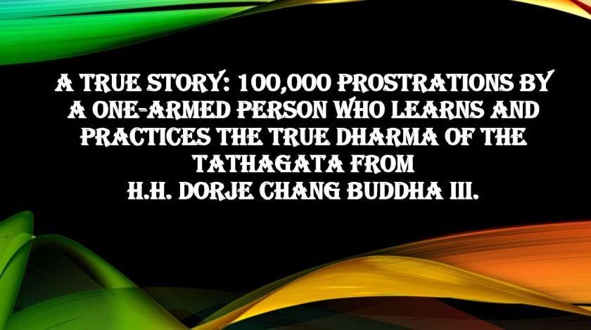 TrueStory- 100000 Prostration