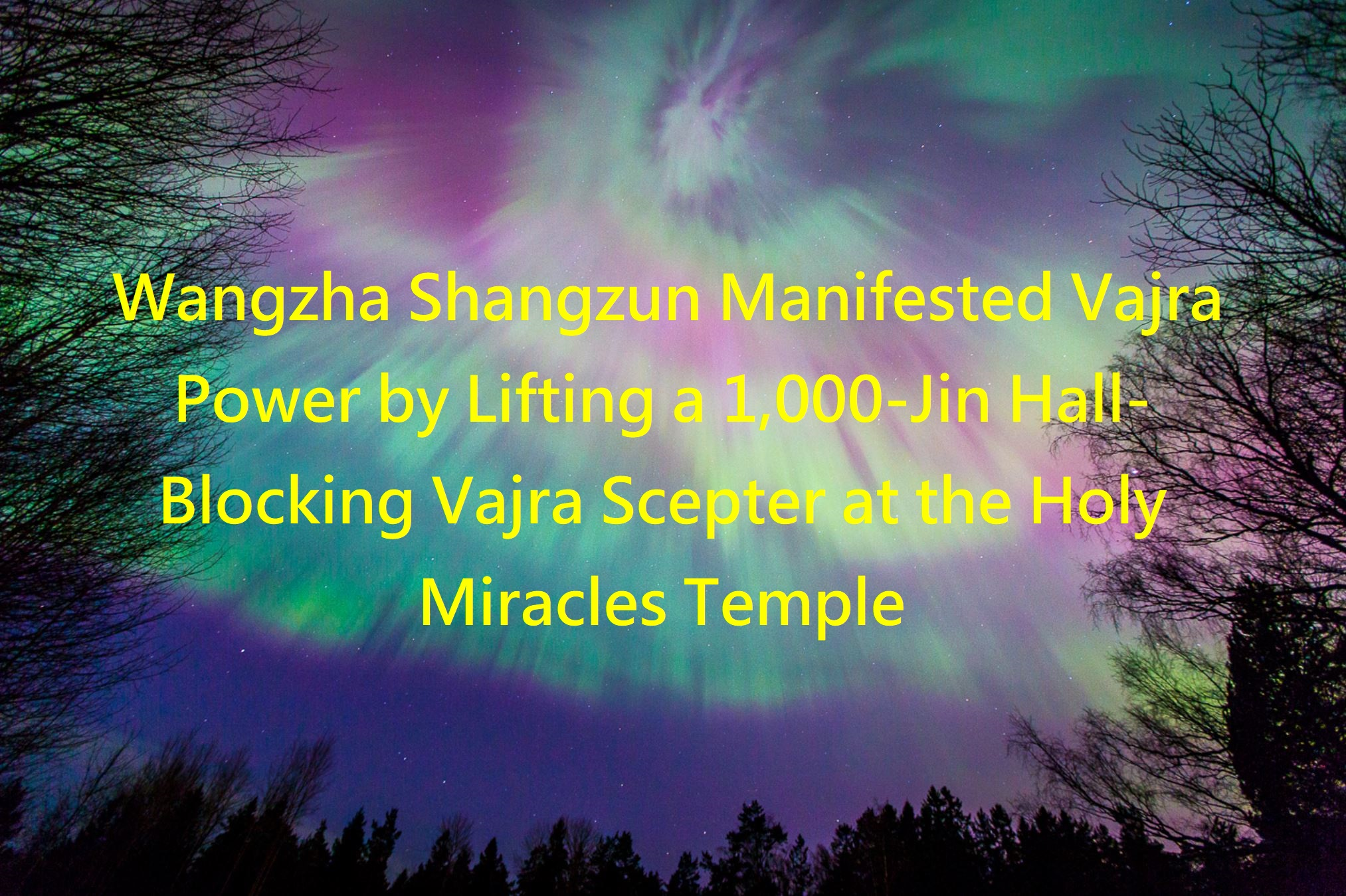 Wangzha Shangzun Manifested Vajra -1